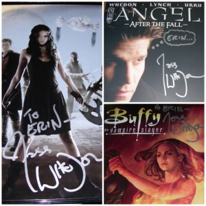 I mean, look at the way he signed that Angel comic.