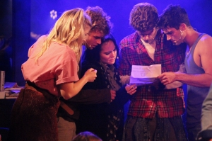 TLBC - The Cast Reads the flyer