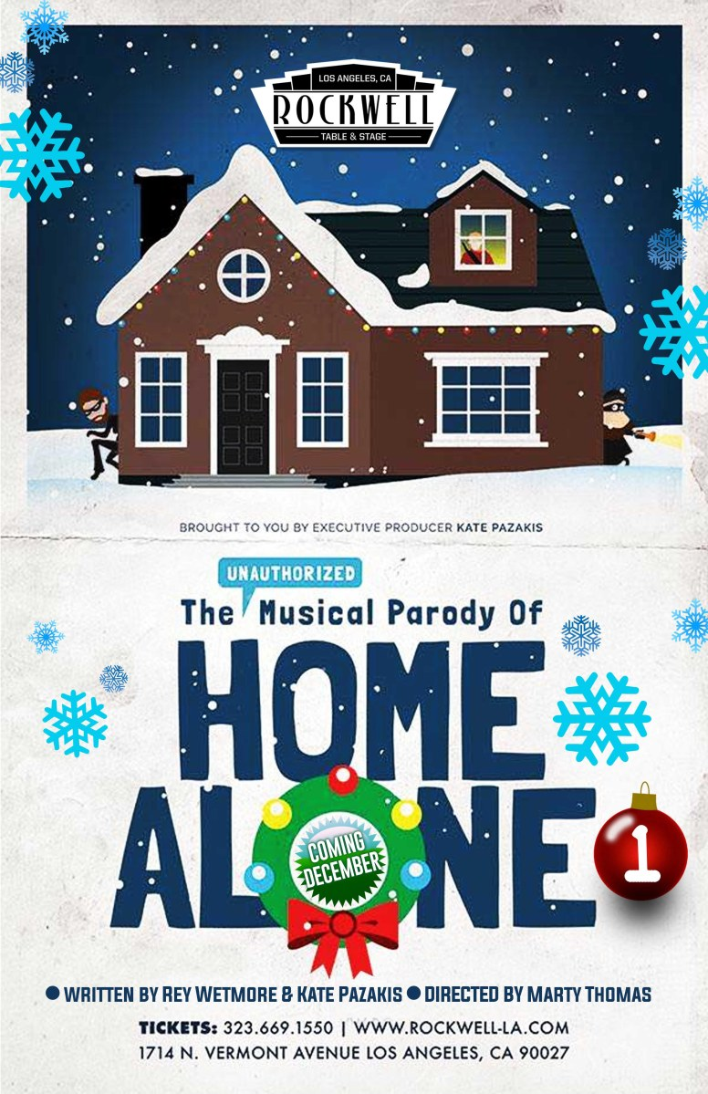 Theater Review: The Unauthorized Musical Parody of Home ...