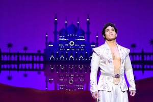 10 Adam Jacobs (Aladdin). Proud of Your Boy Reprise. Photo by Deen van Meer