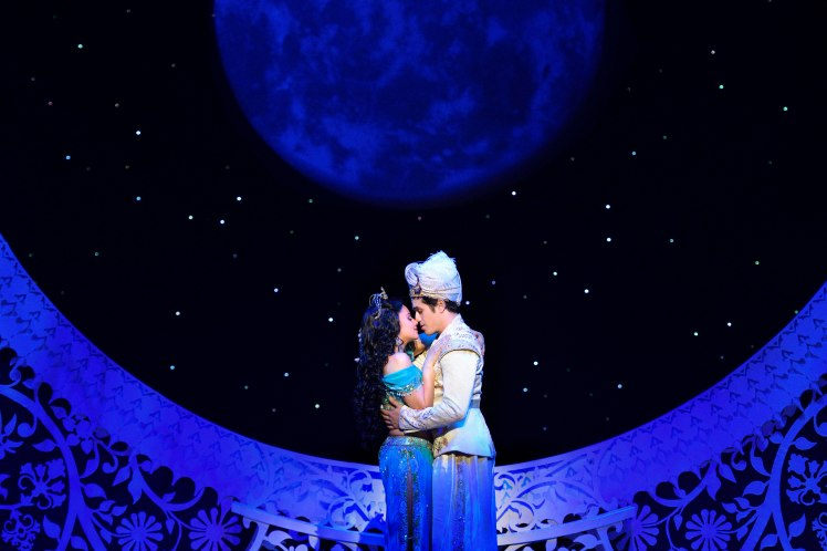S5 Isabelle McCalla (Jasmine) Adam Jacobs (Aladdin). Aladdin North American Tour Original Cast . Photo by Deen van Meer(1)