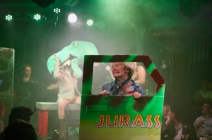 UMPO Jurassic Park - Amanda Kruger as Tim - Gennaro gets eaten