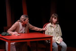 "The Echo Theatre Company and Circle X Theatre Company Performance of ""An Undivided Heart"""