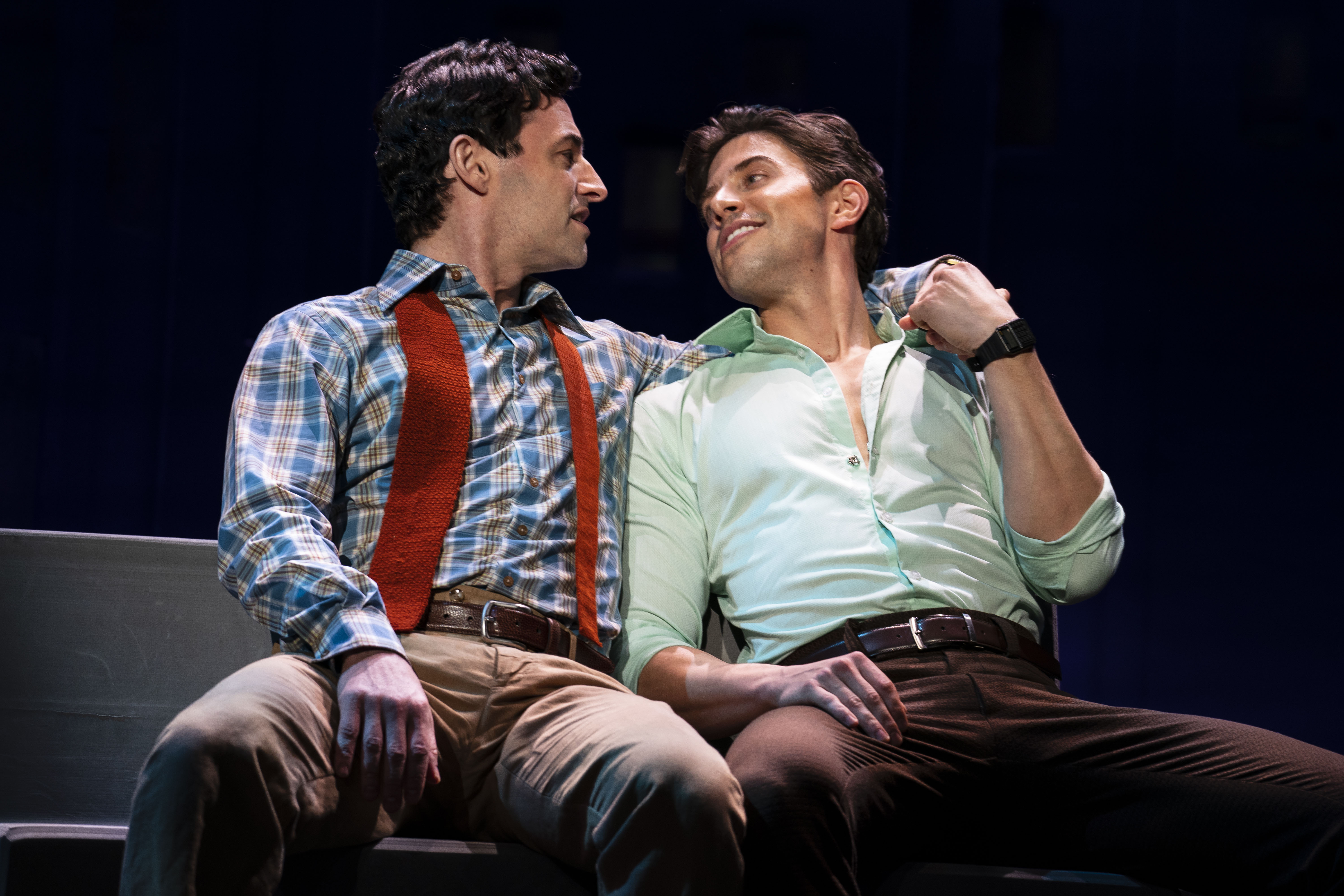 Theater Review Falsettos At The Ahmanson Theatre On Stage Screen