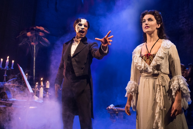 01. THE PHANTOM OF THE OPERA - Derrick Davis and Eva Tavares - photo Matthew Murphy