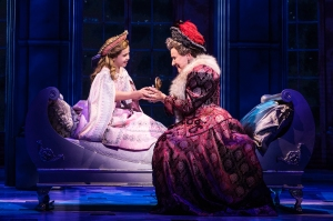 1 - Victoria Bingham (Little Anastasia) and Joy Franz (Dowager Empress) in the National Tour of ANASTASIA. Photo by Evan Zimmerman, MurphyMade.
